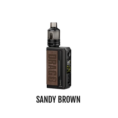 VOOPOO DRAG 3 POD KIT - SANDY BROWN