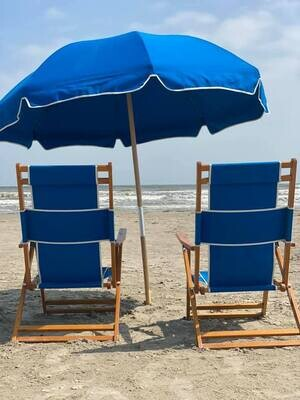 SOLD OUT! AIA Sandcastle August 21st Chair & Umbrella
