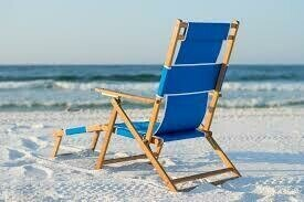 SOLD OUT! AIA Sandcastle August 21st Umbrella & Lounger Set