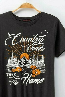 Country Road Graphic Tee