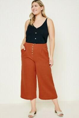 Brick Linen Pants