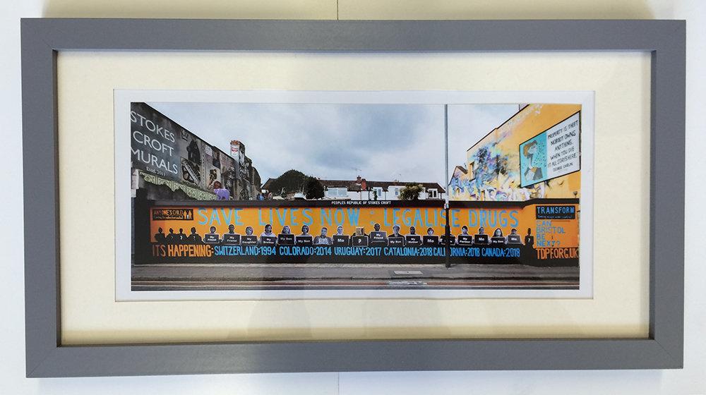 Bristol Mural - Print & Frame 00020