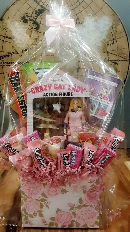 Cat Lady Candy Bouquet