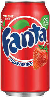 Fanta Strawberry Can