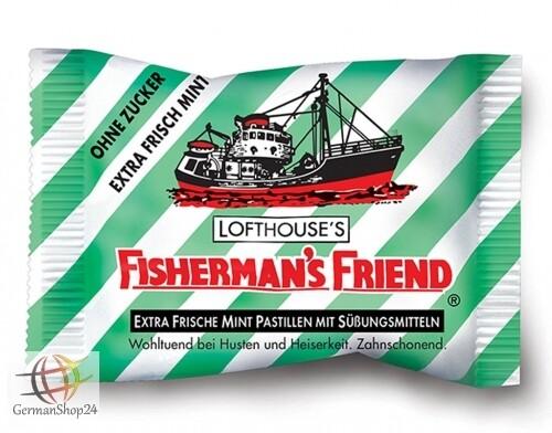 Fisherman's Friend Mint-Sugar Free
