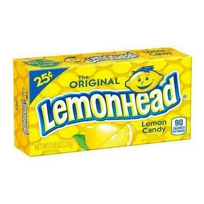 Lemonhead Candy Box