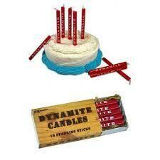 Dynamite Birthday Candles