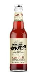 Bruce Cost Pomegranate Hibiscus Ginger Ale