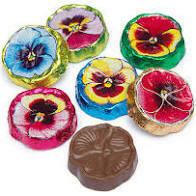 Chocolate Pansies-Madelaine