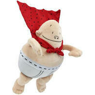 """Captain Underpants Dolls 10"""""""