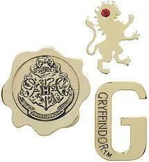 Gryffindor 3 pk Pin set