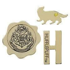 Hufflepuff 3 pk Lapel Pin set