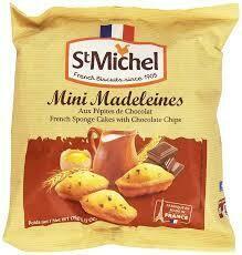 Mini Madaleines- Choc. Chip