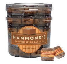Pumpkin Spice Caramels-Hammond