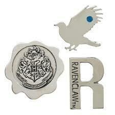 Ravenclaw 3pk Lapel Pin Set