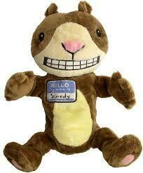 """Scaredy Squirrel 12"""" Doll"""