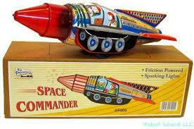 Space Commander Rocket