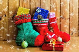 Christmas Stocking-Elf Delivered