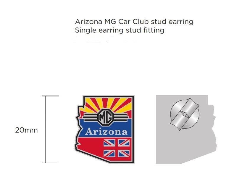 Arizona MG Club Earrings