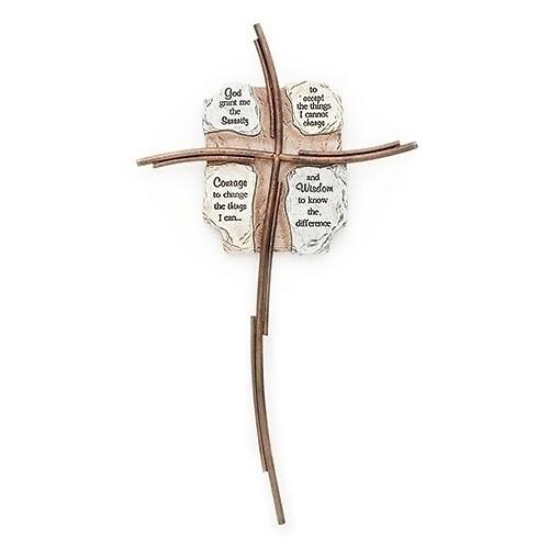 Serenity Pray Cross