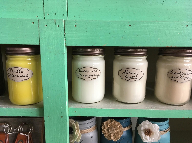 Large Jar Candles