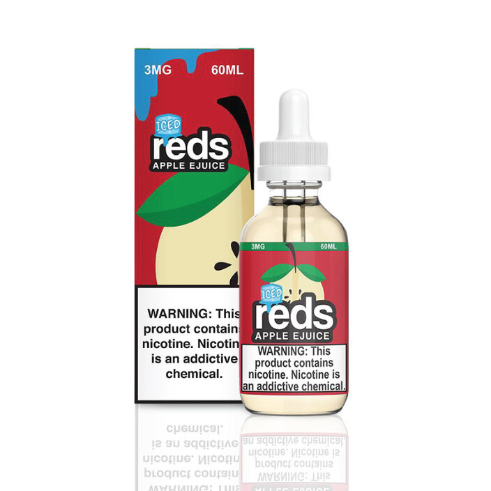 7 Daze REDS ICED E-Liquid
