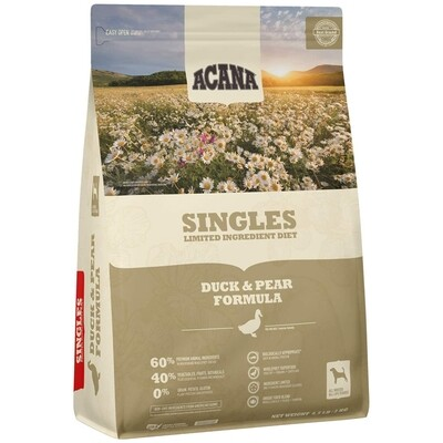 Acana Singles Duck and Pear 4.5lb
