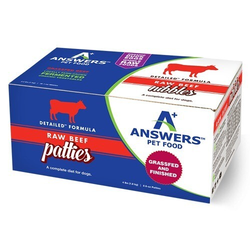 Answers Detailed Frozen Beef Patties 4lb