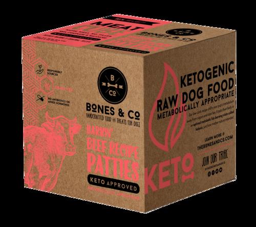 Bones & Co Frozen Beef Bulk Box 18lb