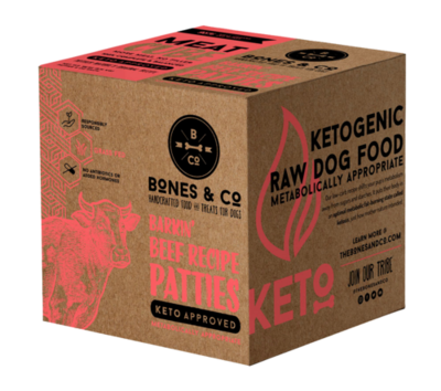 Bones & Co Frozen Beef Bulk Box 18lb