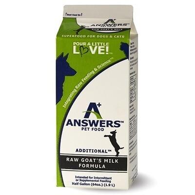 Answers Goat Milk 64oz