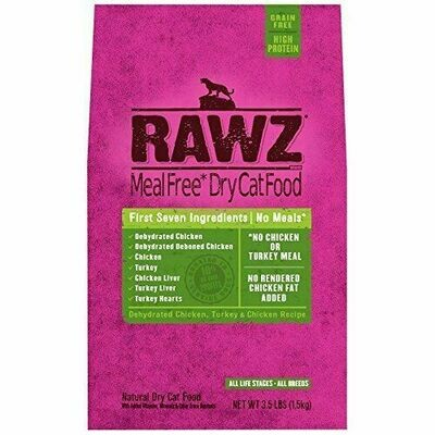 Cat - RAWZ Cat Chicken & Turkey 3.5lb
