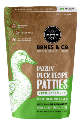 Bones & Co Frozen Duck 6lb