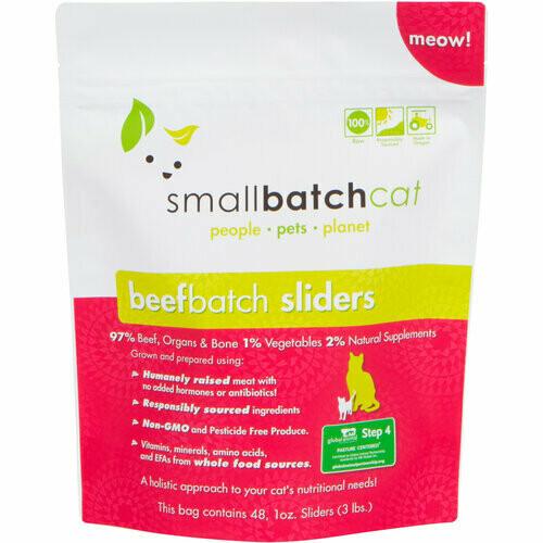 Cat - Small Batch Beef 3lb