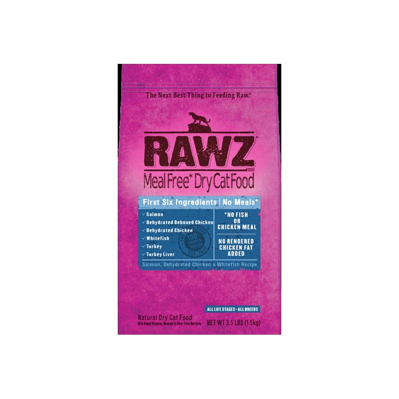 Cat - RAWZ Cat Salmon Whitefish 3.5lb