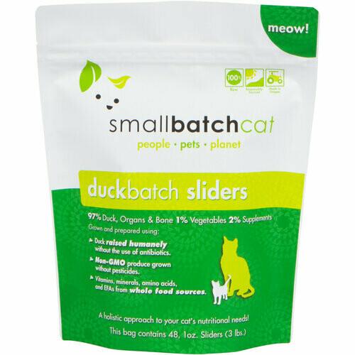 Cat - Small Batch Duck 3lb