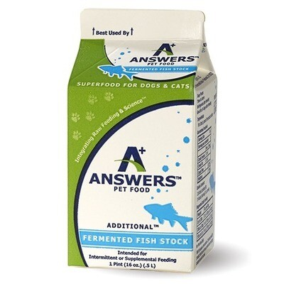 Answers Fermented Fish Stock 16oz