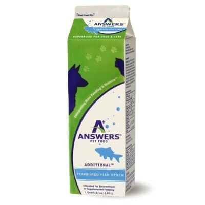 Answers Fermented Fish Stock 32oz