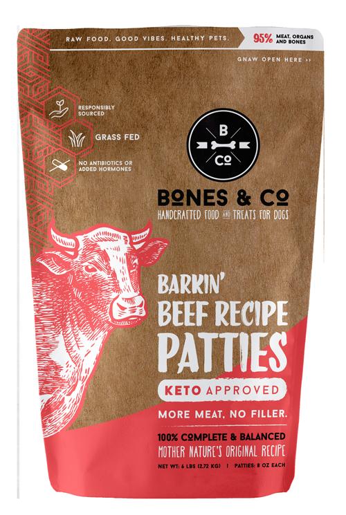 Bones & Co Frozen Beef 6lb