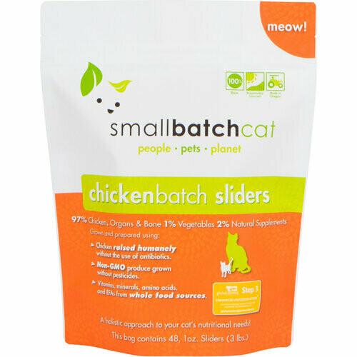Cat - Small Batch Chicken 3lb