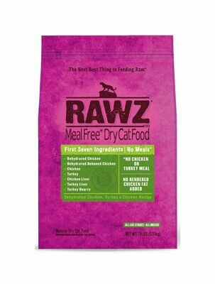 Cat - RAWZ Cat Chicken & Turkey 7.8lb