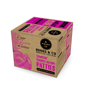 Bones & Co Frozen Turkey Bulk Box 18lb