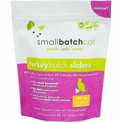 Cat - Small Batch Turkey 3lb