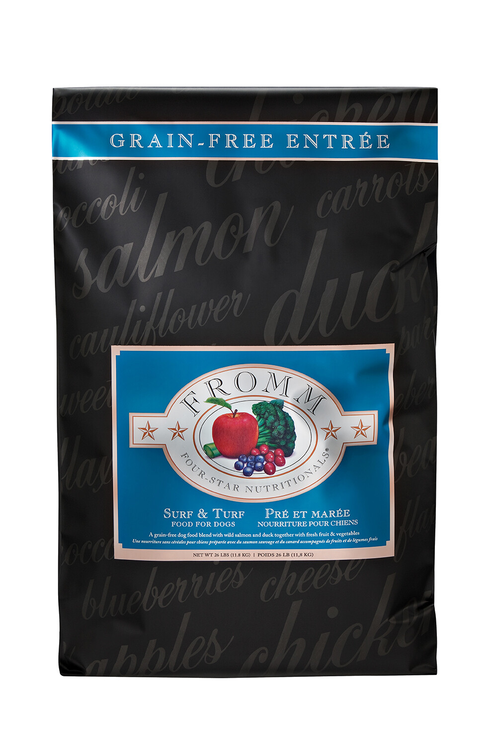 Fromm 4 Star Grain Free Surf and Turf 26lb