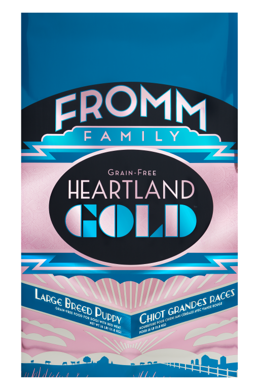 Fromm Heartland Large Breed Puppy 26lb Beef