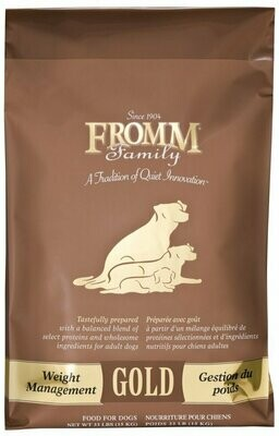 Fromm Gold Weight Management 33lbs
