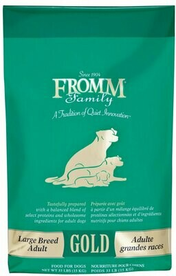 Fromm Gold Adult Large Breed 33lb