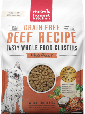 Honest Kitchen Whole Clusters Beef 20lb