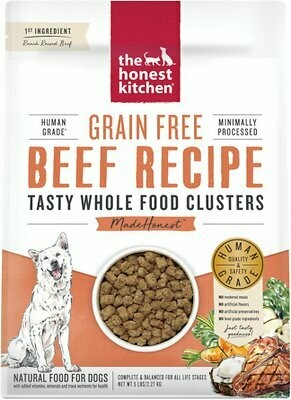 Honest Kitchen Whole Clusters Beef 5lb