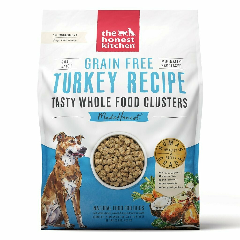 Honest Kitchen Whole Clusters Turkey 20lb